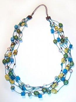 Бусы из бисера: «Морское ожерелье»