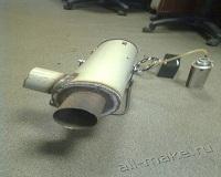 Газовая пушка близкими руками