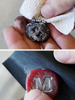 Подвеска из полимерной глины