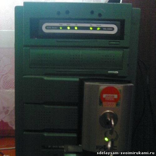 Встраиваем DSL модем в системный агрегат ПК
