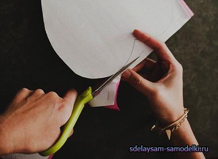 Как мастерить цветок из бумаги
