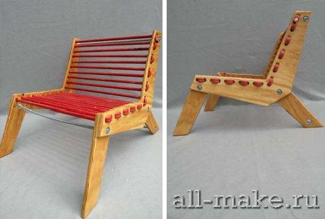 сделать кресло