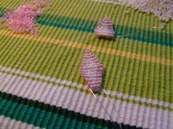 Цветок из бисера для начинающих