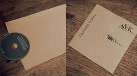 Картонная упаковка для дисков
