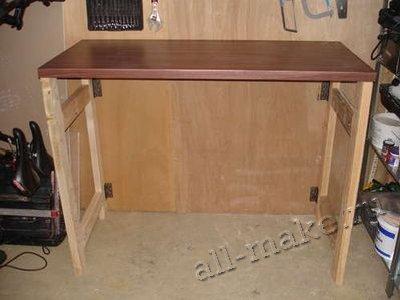 Раскладной стол родными руками