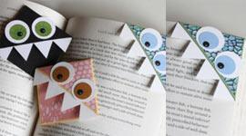 Закладки для книжек близкими руками
