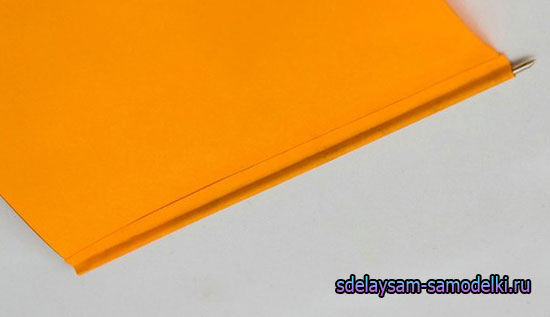 Ручка из бумаги