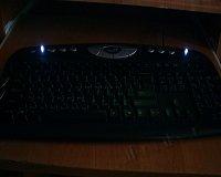 Подсветка для клавиатуры (интегрированная)