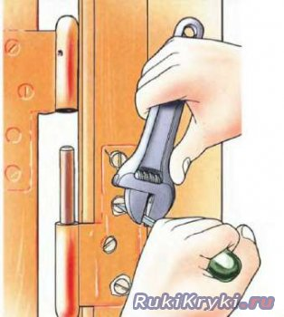 Ремонт дверных петель