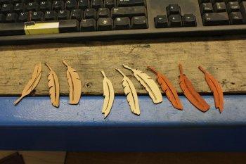 Деревянные серьги своими руками