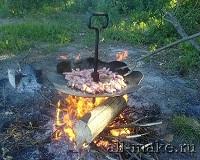 Тарелка для барбекю