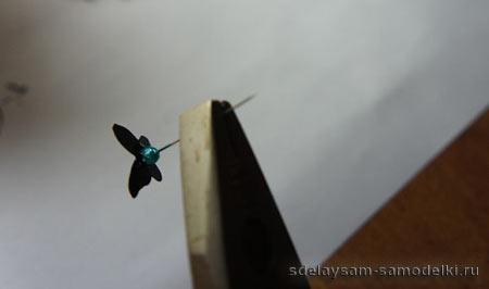 Бабочки на стенке