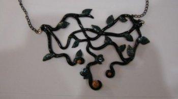 Ожерелье «Фея» из полимерной глины