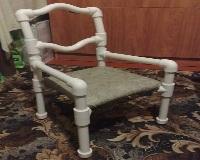 Ребяческий стул из полипропиленовых труб