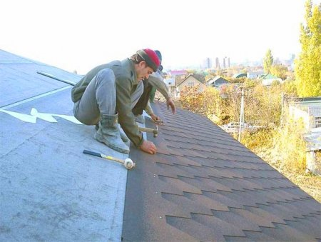 Защита крыши от непогоды