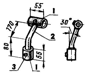 Рис. 6. Стойка для дискового окучника