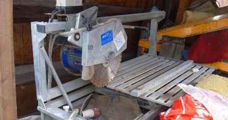 Правила эксплуатации и техника безопасности при работе с камнерезным станком