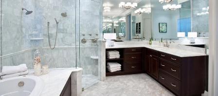 Классика: основные моменты по обустройству ванной комнаты