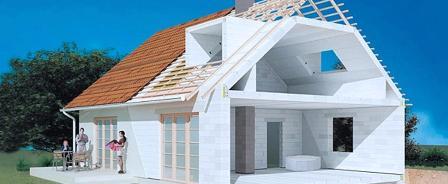 Технология строительства дома из газосиликатных блоков