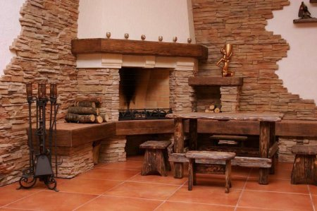 Использование декоративного камня в отделке и строительстве