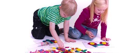 Играйте с детскими наборами мозаики чаще