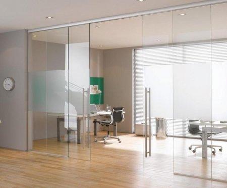 Преимущества использования стеклянных дверей.