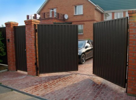 Автоматические виды ворот для дома: что лучше выбрать