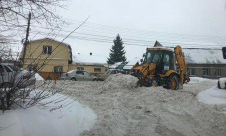 Организация вывоза снега в СНТ